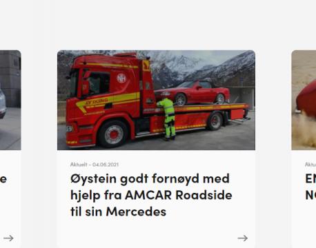 Nytt fra Amcar